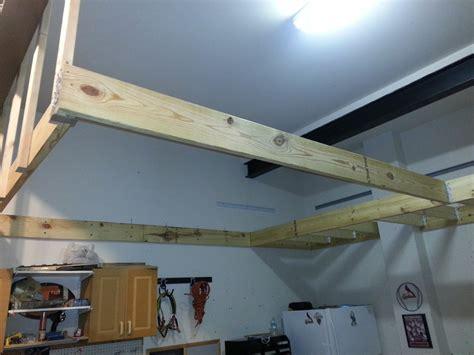 garage storage loft  matt mwa woodworks