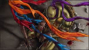Is the saddest teenage mutant ninja turtles fan art you will ever see