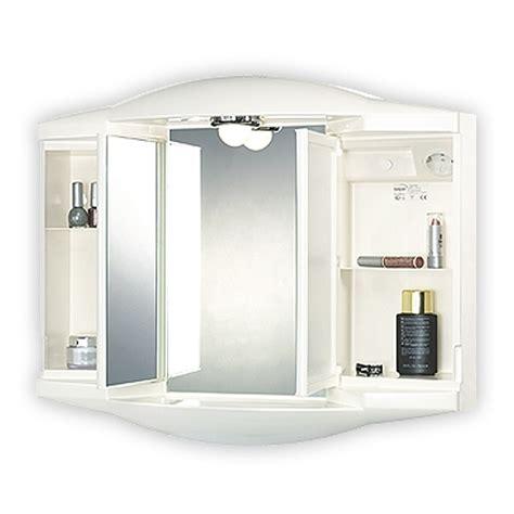 spiegelschrank kunststoff sieper chico gl wei 223 spiegelschrank aus kunststoff ma 223 e b