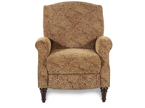 mathis brothers furniture recliners lane chloe classic high leg recliner mathis brothers