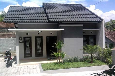 warna cat abu abu rumah minimalis