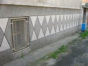 typical house wall design in yambol exterior boundary wall