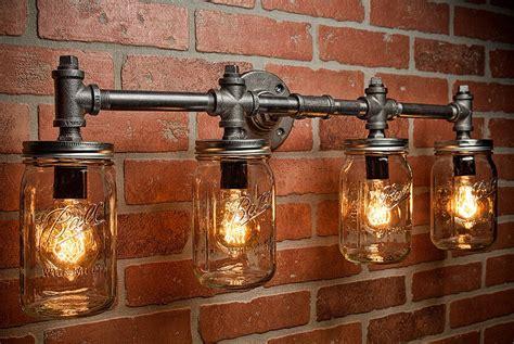 industrial chic outdoor lighting industrial lighting lighting jar light steunk