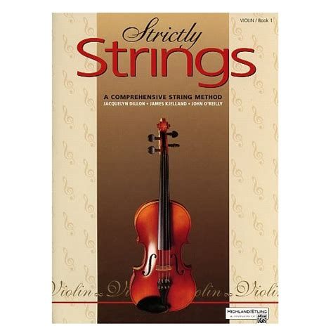 String Book - strictly strings violin book 1
