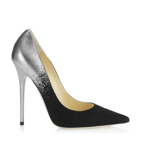 Get Your Groove On With Jimmy Choo Patent Shoes by Black Patent Leather Pointy Toe Designer Pumps Anouk