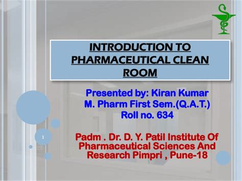 pharmaceutical clean room - Clean Room Design Ppt