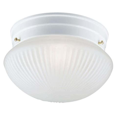 Replacing Flush Mount Ceiling Light Fixture by Westinghouse 64671 1 Light White Ceiling Light Fixture Elightbulbs