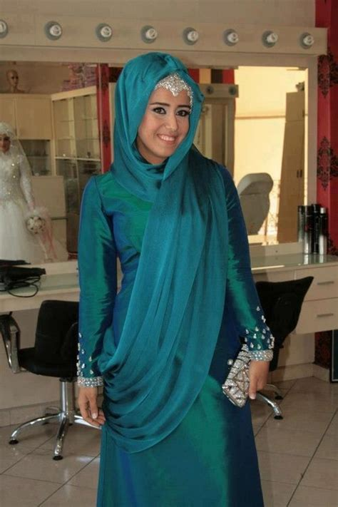 Dress Muslim Abaya Hikmat Fashion A192 Turquise pin by nuriyah o martinez on fashion turquoise wedding and search