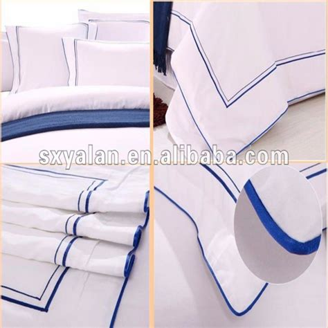 Sprei Bordir bordir hotel kehidupan sprei tempat tidur set tekstil
