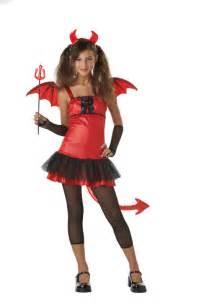 Halloween Costumes For Teens Devil Tween Costume Purecostumes Com