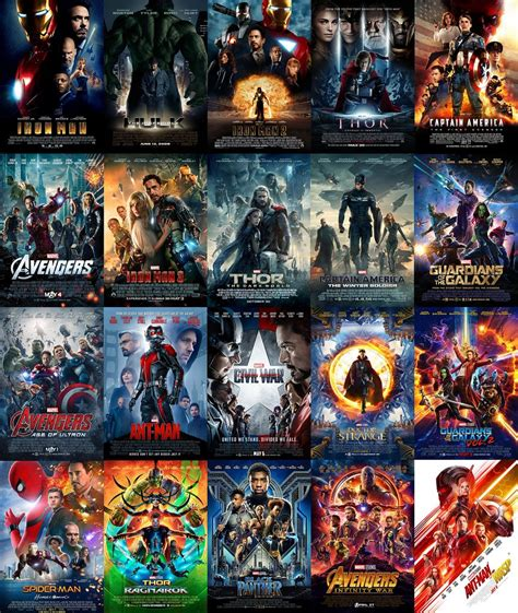 marvel cinematic universe poster ant man