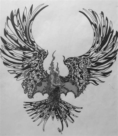 black phoenix tattoo designs tattoos and designs page 16