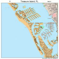 island florida map treasure island florida map 1272325