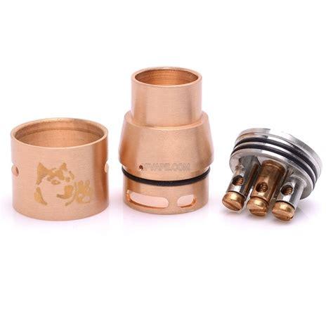 Rda Doge V2 22mm Harga doge v2 style rda rebuildable atomizer copper copper stainless steel 22mm