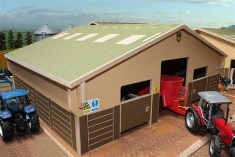 Brushwood Farm Sheds by Brushwood Toys Model Farm Buildings Wooden 1 32 Scale
