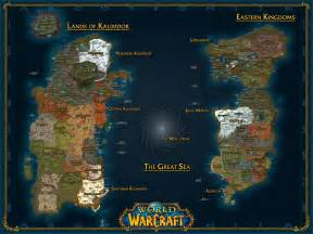 Wow World Map by Sherard Callan Wow Maps