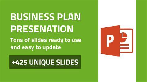 Business Plan Modern Powerpoint Presentation Template Youtube Modern Business Plan Powerpoint Template Free