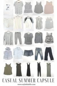 Summer Capsule Wardrobe by Wardrobes Home And Casual Summer On