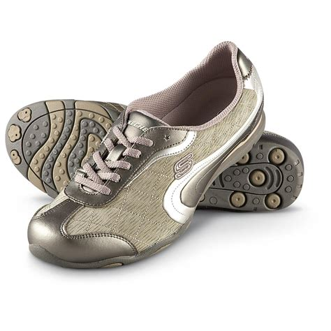 s skechers 174 route 66 shoes taupe 186881 running