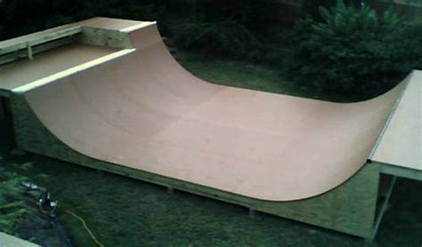 backyard half pipe triyae com backyard half pipe blueprints various
