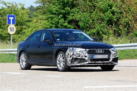 2020 Audi A4 by 2020 Audi A4 Facelift New Spyshots Show All The Details