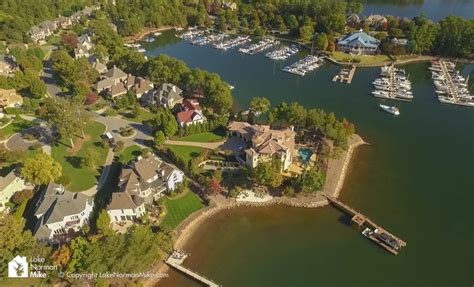 boat house lake norman the peninsula lake norman homes for sale video guide