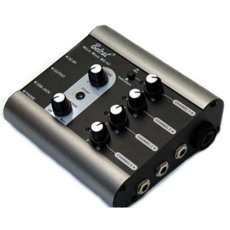 Mixer Mini belcat mini mixer mx4u p a equipment mania