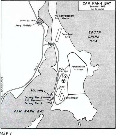map us bases 1970 us bases ranh bay