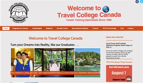 Distance Mba Programs Canada by The Best Distance Learning Programs For Travel Agents