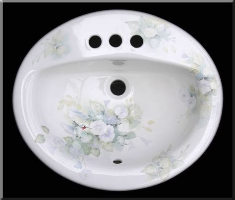 painted bathroom sinks hand painted bathroom sinks bathroom pinterest paint