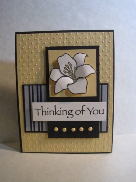 Thinking Of You Handmade Cards - thinking of you by lisaadd at splitcoaststers