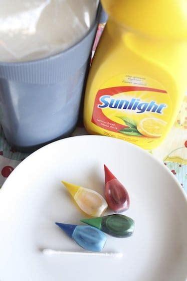 milk dish soap food coloring magic milk experiment explosion of colour happy hooligans
