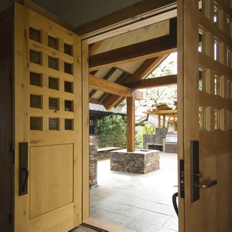 Interior Exterior by House With Wood And Interior And Exterior
