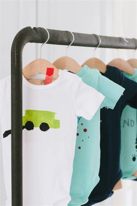 Onesie Painting Baby Shower by Onesie Painting Station A Subtle Revelry