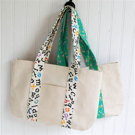 sewing bag making pattern books free canvas book bag sewing tutorial sewcanshe free