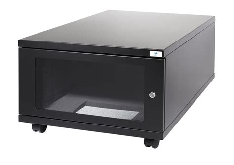 mini server rack cabinet acousti products acoustic mini cabinet range