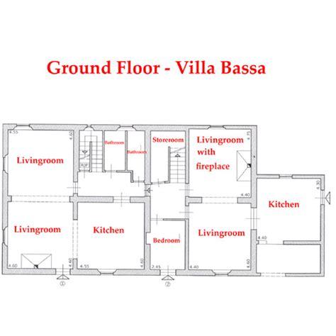 que es layout de cocina villa bassa interior