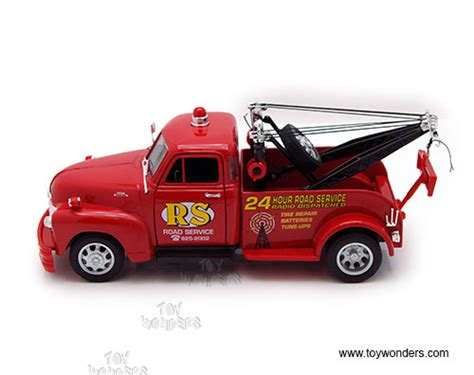 Welly Chevrolet Custom Decal 1953 chevrolet tow truck by welly 1 24 scale diecast model