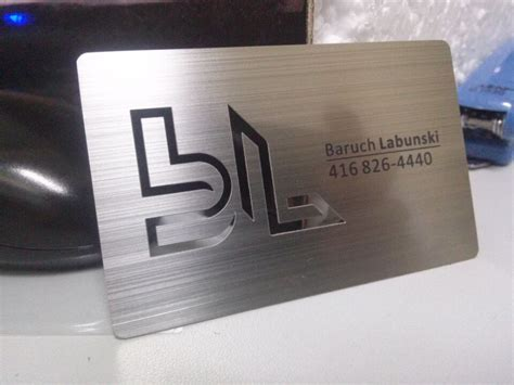Portable Tabletop by Metal Business Cards Silver Gold Black Free
