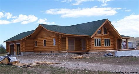 log home staining cowboy log homes