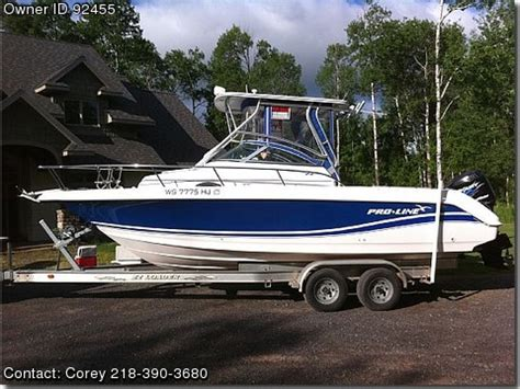 used walkaround boats for sale by owner 2004 pro line 24 walkaround used boats for sale by owners