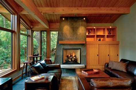 9 fabulous fireplaces in timber homes