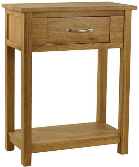 Small Oak Console Table Oak Occassional Small Console Table Traditional Furniture Furniture Store