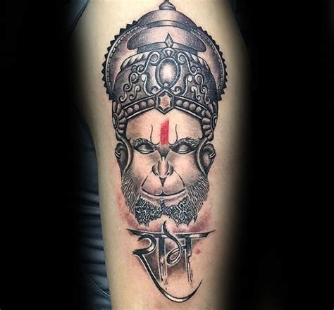 60 hanuman tattoo designs for men hinduism ink ideas