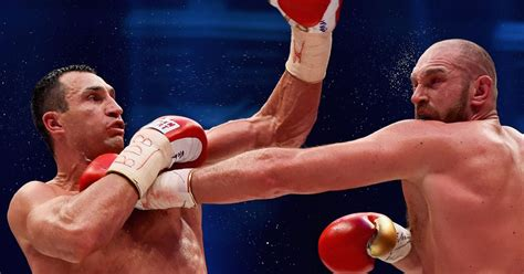 siaran tv tinju wladimir vs tyson tyson fury s rematch with wladimir klitschko to be