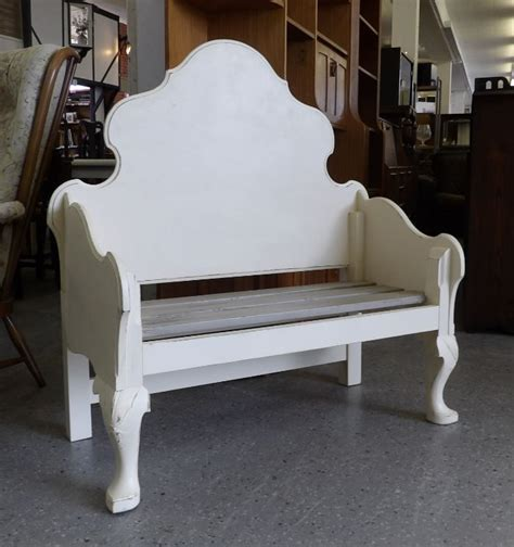 Benches Made From Headboards by Bench Made From Recycled Headboards 163 125 Restoration