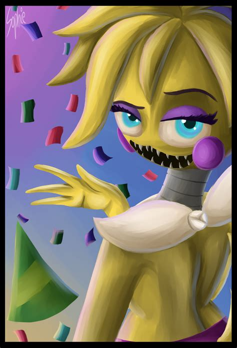 deviantart anime chica toy toy chica five nights at freddy s 2 by sophie12320 on