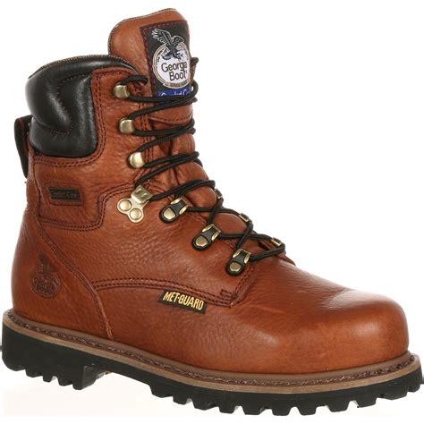 steel toe boots with metatarsal guard boot s 8 quot met guard steel toe work