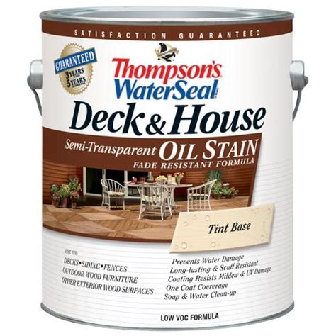 thompsons water seal deck house oil stain semi