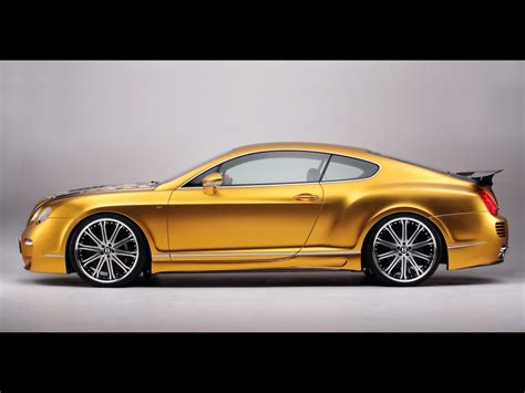 bentley coupe gold asi corp custom continental gt speed based on bentley